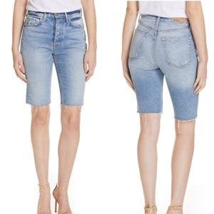 GRLFRND Beverly Bermuda Denim Shorts